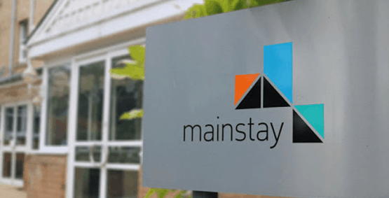 Mainstay outside signage